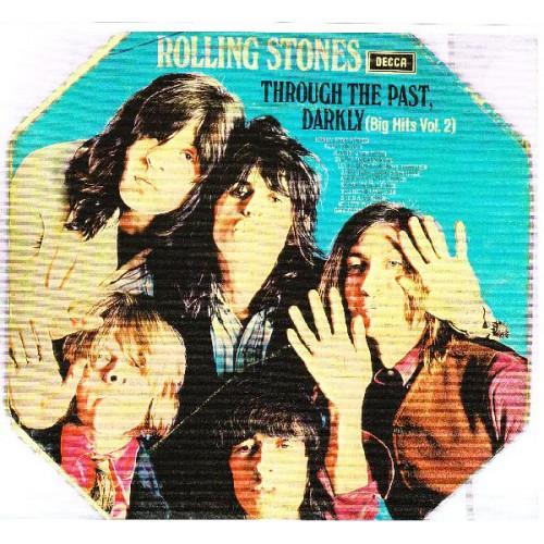 ROLLING STONES,THE - THROUGH THE PAST DARKLY ( BIG HITS VOL.2 ) ( ΟΚΤΑΓΩΝΟ LP )