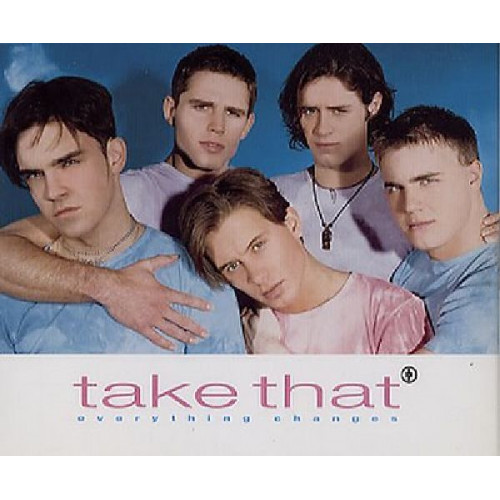 TAKE THAT - EVERYTHING CHANGES ( PICTURE DISC )