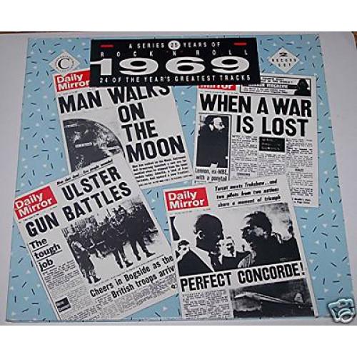 25 YEARS OF ROCK' N' ROLL 1969 ( 2 LP )