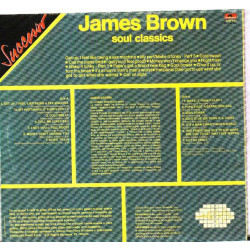 JAMES BROWN - SOUL CLASSICS