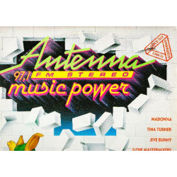 ANTENA MUSIC POWER Νο 1 ( 2 LP ) - 1989