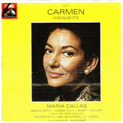 BIZET - CARMEN HIGHLIGHTS ( MARIA CALLAS; GEORGES PRETRE )