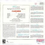 BIZET - CARMEN HIGHLIGHTS ( MARIA CALLAS; GEORGES PRETRE )