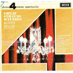 WERNER MULLER AND HIS ORCHESTRA - GREAT STRAUSS WALTZES