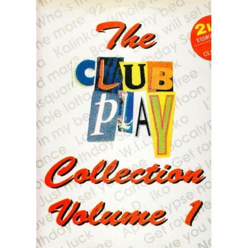 CLUB PLAY COLLECTION VOL. 1 ( 2 LP )