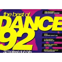 DANCE 92 THE BEST ( 2 LP )