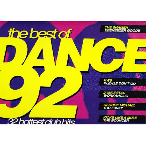 DANCE 92 THE BEST ( 2 LP )