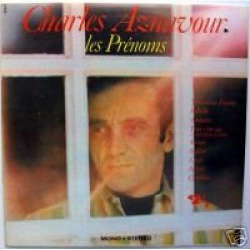 CHARLES AZNAVOUR - LES PRENOMS