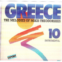 GREECE THE MELODIES OF MIKIS THEODORAKIS No 10 - INSTRUMENTAL