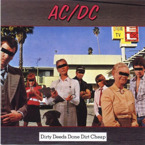 AC DC - DIRTY DEEDS DONE DIRT CHEAP