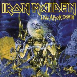 IRON MAIDEN - LIVE AFTER DEATH ( 2 LP )