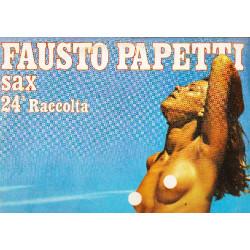 FAUSTO PAPETTI SAX - 24a RACCOLTA