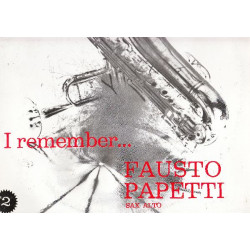 FAUSTO PAPETTI SAX - I REMEMBER No 2