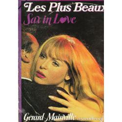 GERARD MAINVILLE ET SON ORCHESTRE - LES PLUS BEAUX SLOWS ''SAX IN LOVE'' ( 2 LP )