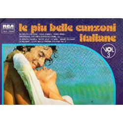 VARIOUS - LA PIU BELLE CANZONI ITALIANE VOL. 3