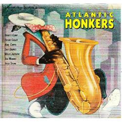 VARIOUS - ATLANTIC HONKERS, RHYTHM & BLUES SAXOPHONE ATHOLOGY ( 2 LP )