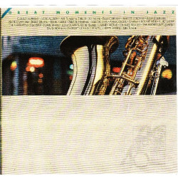 VARIOUS - GREAT MOMENTS IN JAZZ ( 3 LP BOX )