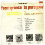 ALBERTO DE LUQUE Y LOS AMIGOS - FROM GREECE TO PARAGUAY