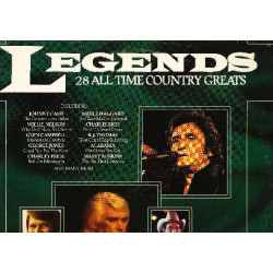 LEGENDS 28 ALL TIME COUNTRY GREATS ( 2 LP )