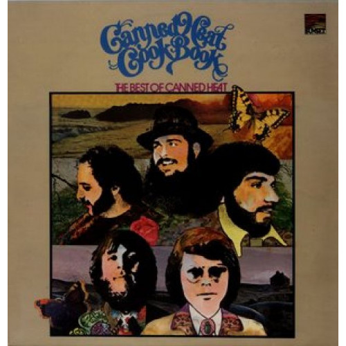 CANNED HEAT - COOK BOOK THE BEST OF CANNED HEAT