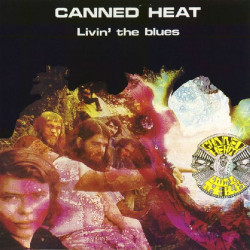 CANNED HEAT - LIVING THE BLUES ( 2 LP )