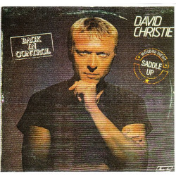 DAVID CHRISTIE - BACK IN CONTROL