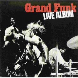 GRAND FUNK - LIVE ALBUM ( 2 LP )