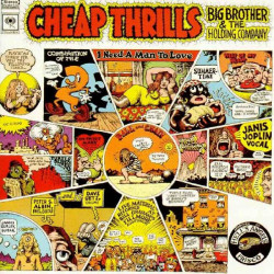 JANIS JOPLIN - CHEAP THRILLS BIG BROTHER AND THE HOLDING COMPANY