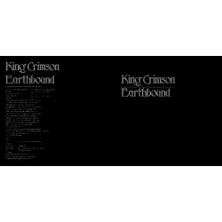 KING CRIMSON - EARTHBOUND (MADE IN ITALY)