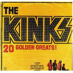 KINKS,THE - 20 GOLDEN GREATS