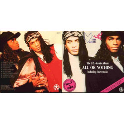 MILLI VANILLI - ALL OR NOTHING THE FIRST ALBUM