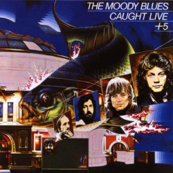 MOODY BLUES,THE - CAUGHT LIVE + 5 ( 2 LP )