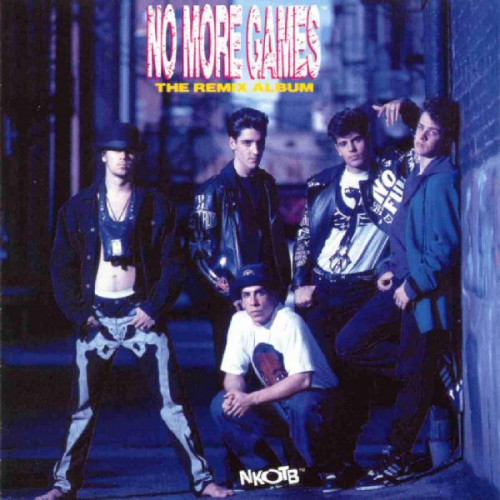 NEW KIDS ON THE BLOCK - NO MORE GAMES THE REMIX ALBUM