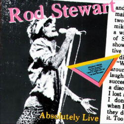 ROD STEWART - ABSOLUTELY LIVE ( 2 LP )