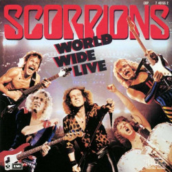 SCORPIONS - WORLD WIDE LIVE ( 2 LP )
