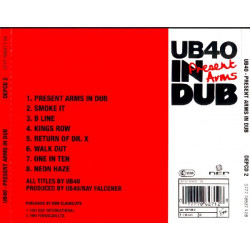 UB 40 - PRESENT ARMS IN DUB