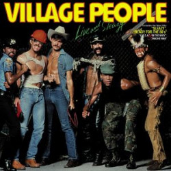 VILLAGE PEOPLE - LIVE AND SLEAZY ( 2 LP )