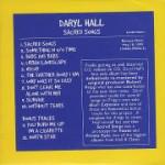 DARYL HALL - SACRED SONGS
