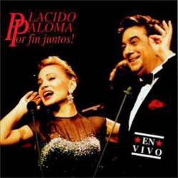PLACIDO DOMINGO & PALOMA SAN BASILIO - POR FIN JUNTOS ( 2 LP )