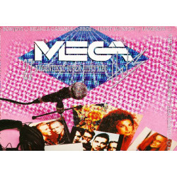 MEGA HITS - 1989 ( 2 LP )