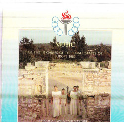 MUSIC OF THE III GAMES EUROPE 1989 - NICOSIA CYPRUS