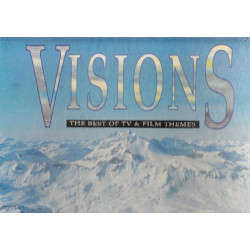 VARIOUS - VISIONS THE BEST OF TV & FILM THEMES ( 4 LP )