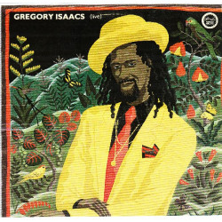 GREGORY ISAACS - LIVE REGGAE GREATS