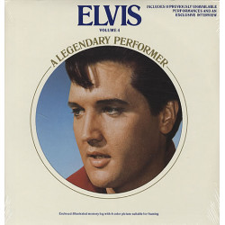 ELVIS PRESLEY - ELVIS A LEGENDARY PERFORMER VOLUME IV