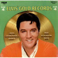 ELVIS PRESLEY - ELVI'S GOLDEN RECORDS VOL. 4