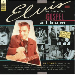 ELVIS PRESLEY - THE DEFINITIVE GOSPEL ALBUM ( 2 LP )