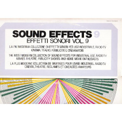 SOUND EFFECTS VOL. 9