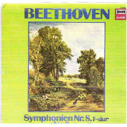 BEETHOVEN - SYMPHONIEN No. 8 IN F DUR & No. 9 IN D MOLL ( JEAN FOURNET ) ( 2 LP )