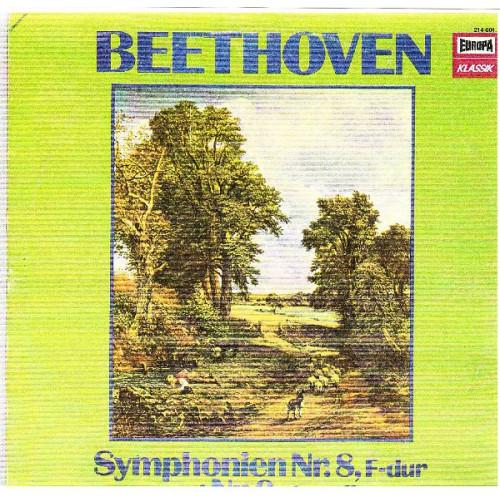 BEETHOVEN - SYMPHONIEN No. 8 IN F DUR & No. 9 IN D MOLL ( JEAN FOURNET ) ( 2 LP )