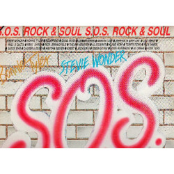 VARIOUS - S.O.S. ROCK & SOUL ( 2 LP )